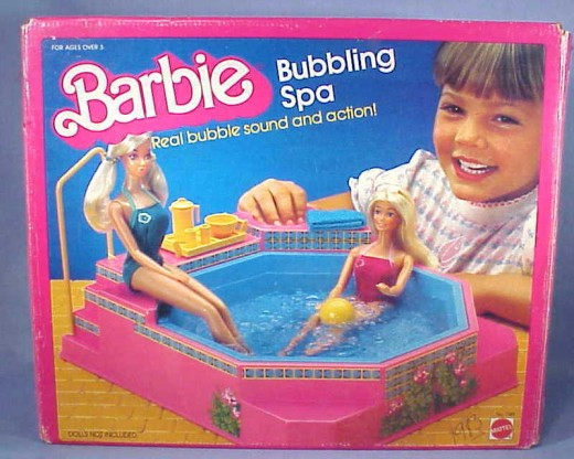Barbie Bathing Spa