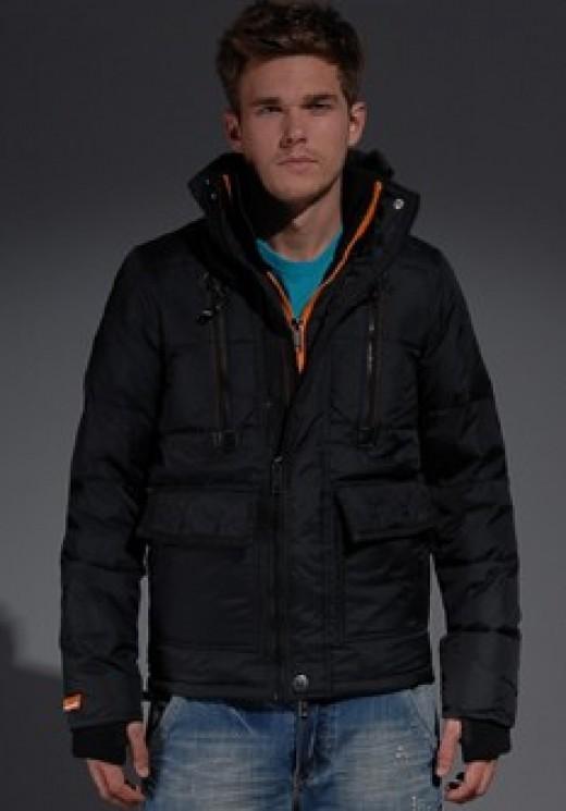 Superdry Clothing Rescue Puffa Jacket