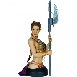 Leia The Jabba Jabber in slave outfit