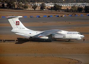 11-76 Cargo plane