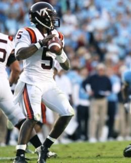 QB Tyrod Taylor -Sr- (Virginia Tech) - 2010 stats:  154-256 2258yds 20td/ 133att 748yds 10td