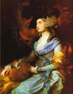 A portrait of the early American writer, Sarah Kemble Knight.