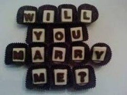 Form Your Own Chocolate Letter Messages!