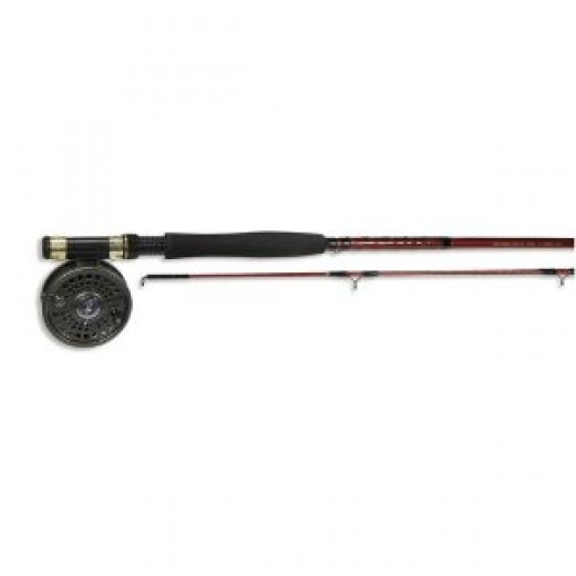 """Eagle Claw 8'6"""" Pre-Mount Fly Combo"""