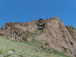 Granite Peak NV, near Hinkey summit