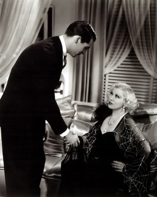 Mae West & Cary Grant