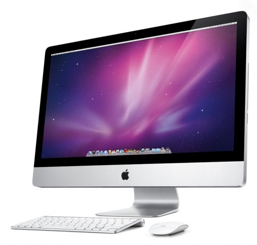 Apple iMac MC510LL\A Desktop has a 27 inch brilliant LED back lit edge to edge glass display perfect for gaming, watching videos and HD quality movies