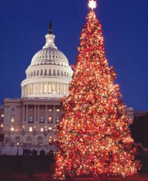 Christmas in Washington, DC, USA