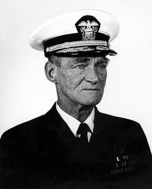 Captain Marc Mitscher