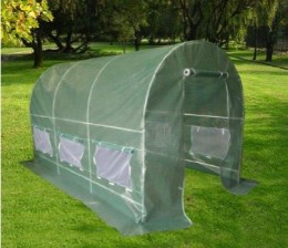 New 2010 Greenhouse 12' X 7' X 7' Large Green House Garden Outdoor.
