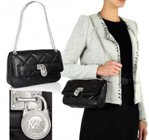 Michael by Michael Kors Small Quilted Hamilton Shoulder Bag