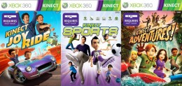3 Games Included in Xbox Kinect Launch Titles