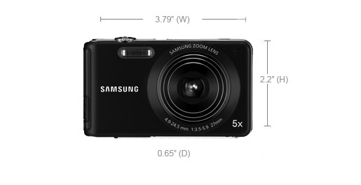 Small Sleek Affordable - the Samsung TL110 Digital Camera