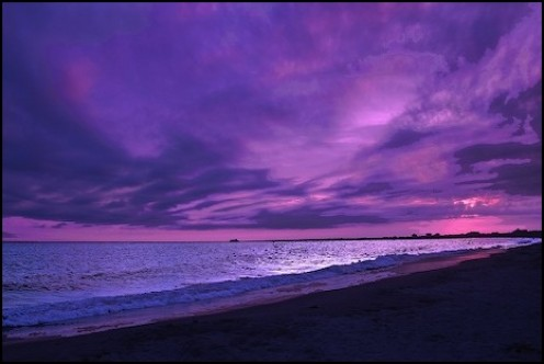 This would be the color purple
