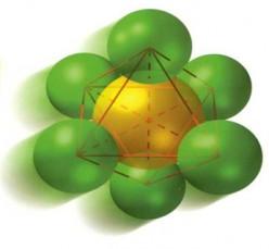 SF6 Gas Molecule