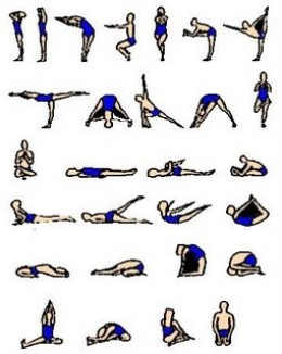 Yoga Poses on Yoga Positions