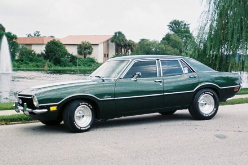 Though our family's green Ford Maverick was not quite this sporty, it was awful close and seemed like a very cool mode of transportation to a pre-teen by who idolized Richard Petty.