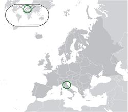 San Marino Location