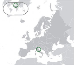 San Marino Location
