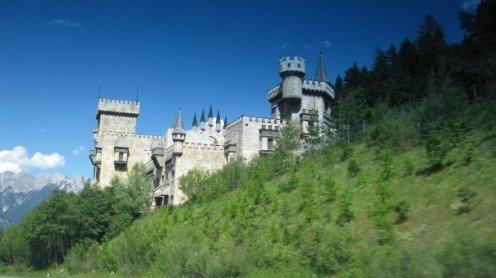 Feel the life that once lived in a magnificent castle; be grateful it still stands, so you can enjoy it today.