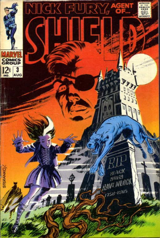 Stunning art by Jim Steranko