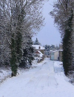 Entrance to Videix Village