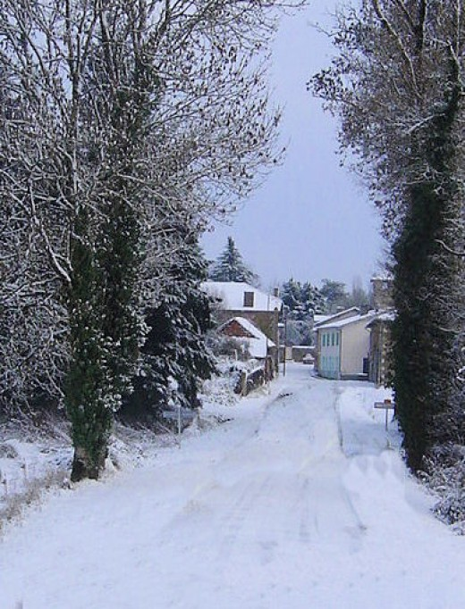 Entrance to Videix Village
