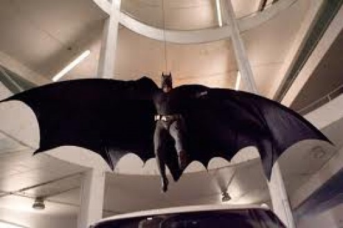 The Dark Knight in Flight