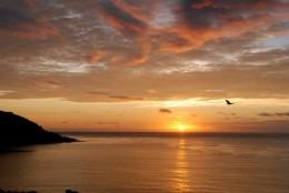 Onchan Head, Isle of Man sunrise.