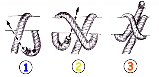 bolan knot clove hitch diagram pictures to pin on