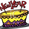 New Year Special Cakes - Best for New Year's Eve Celebration