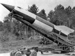 WW2 V2 rocket.