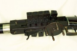 """Bennet & Haviland """"chain gun"""" rifle made by N. Kendall & Co. in 1838."""
