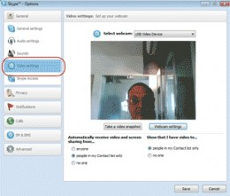 Diagram 9. Setting up your webcam