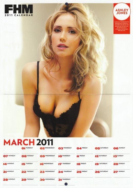FHM 2011 Calendar Girls HQ .