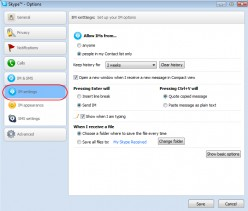 Configure Skype - Part 3