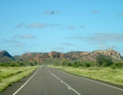The road to Mt. Isa