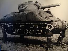 One of Operation Fortitude's Inflatable tanks