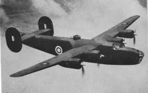 WW2 Liberator Bomber