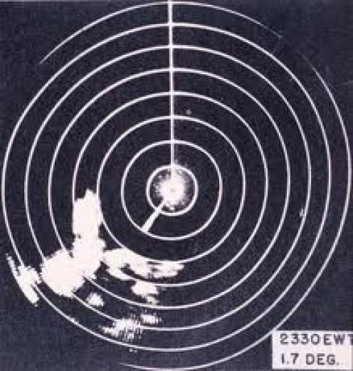 Radar Display of World War two