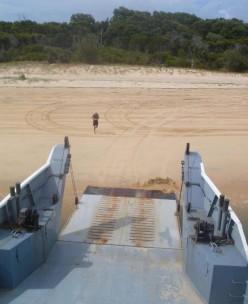 Fraser Island ferry 'terminal'