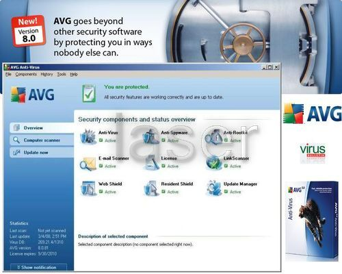AVG is an example of a free anti-virus software