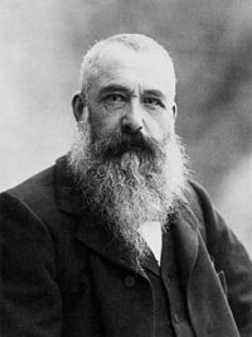 Monet in 1899
