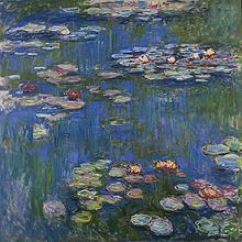 """""""Water Lilies"""" (1916)"""