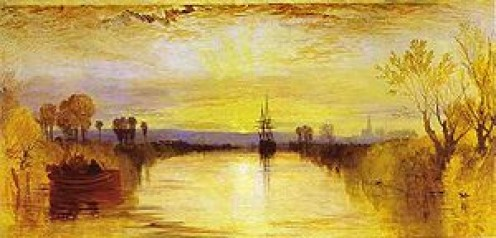 """Turner's """"Chichester Canal"""" (1815)"""