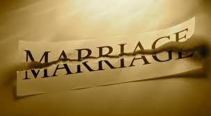 A Marriage in repair.