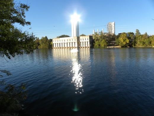 Lady Bird Lake Austin TX