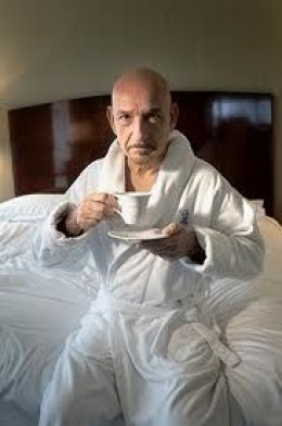 Ben Kingsley could make Gandhi look sexy!