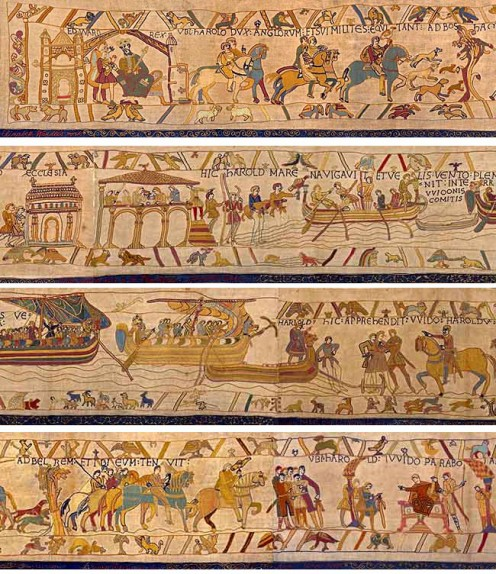 Bayeux Trapestry Bayeux, Normandy, France 50 cm by 70 m