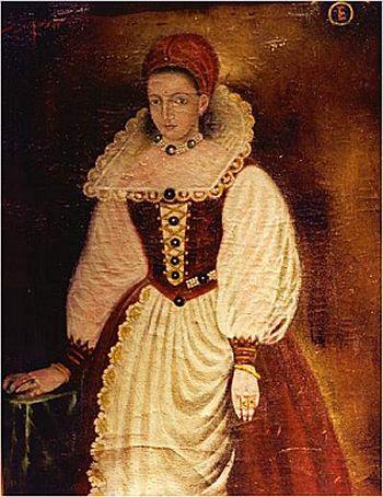 Portrait of Countess Erzebet Bathory